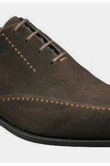 Hand Crafted Brown Square Toe Suede Shoes Party Wear Shoes,Dress Shoes